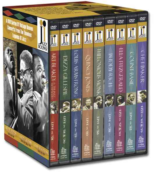 JAZZ ICONS BOX SET BY JAZZ ICONS (DVD)