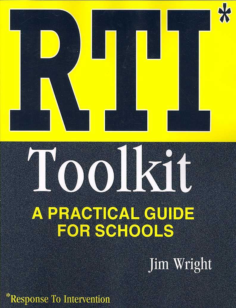 Rti Toolkit By Wright, Jim